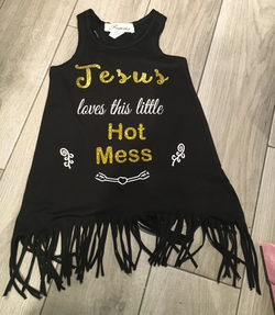 Jesus lines this little hot mess Dress