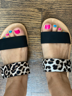 Leopard slip on clearance