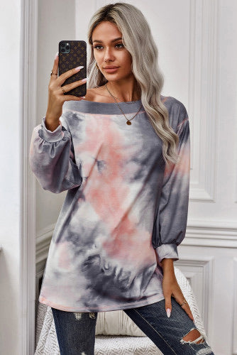 Tie dye top on sale
