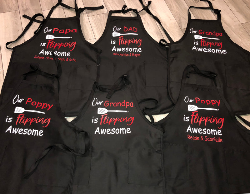 Personalized Aprons With Names Or No Name
