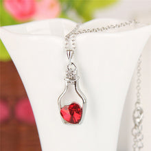 Crystal Necklace and Pendant