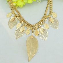 Gold Leaves Chain
