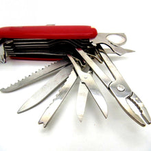 Multi-Functional Swiss Folding Stainless Steel Pocket Knife.