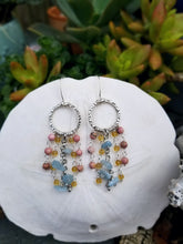 Boho Beaded Drop Earrings
