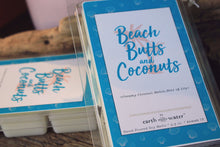 Beach Butts and Coconuts 6-pack JUMBO soy wax melts