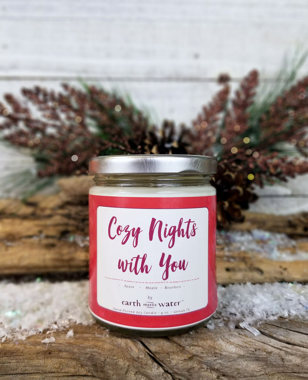 Cozy Nights with You - 9oz Soy Candle