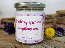 Cranberry Spice - 9oz Soy Candle
