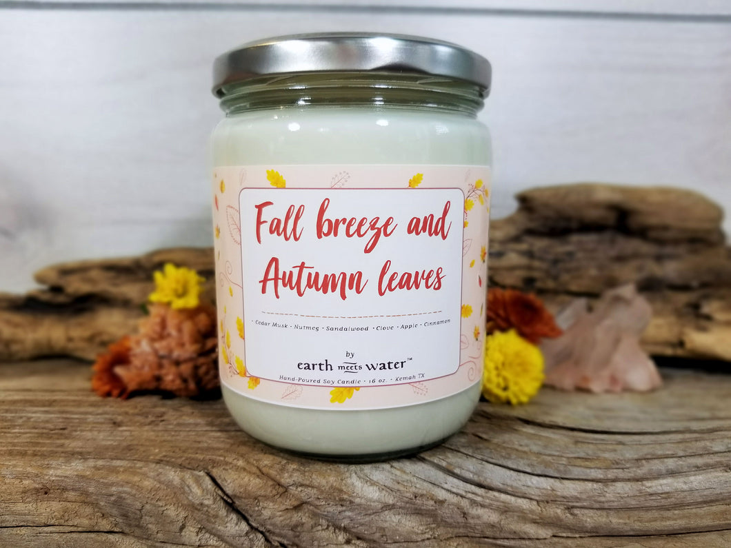 Fall Breeze - 16oz Soy Candle