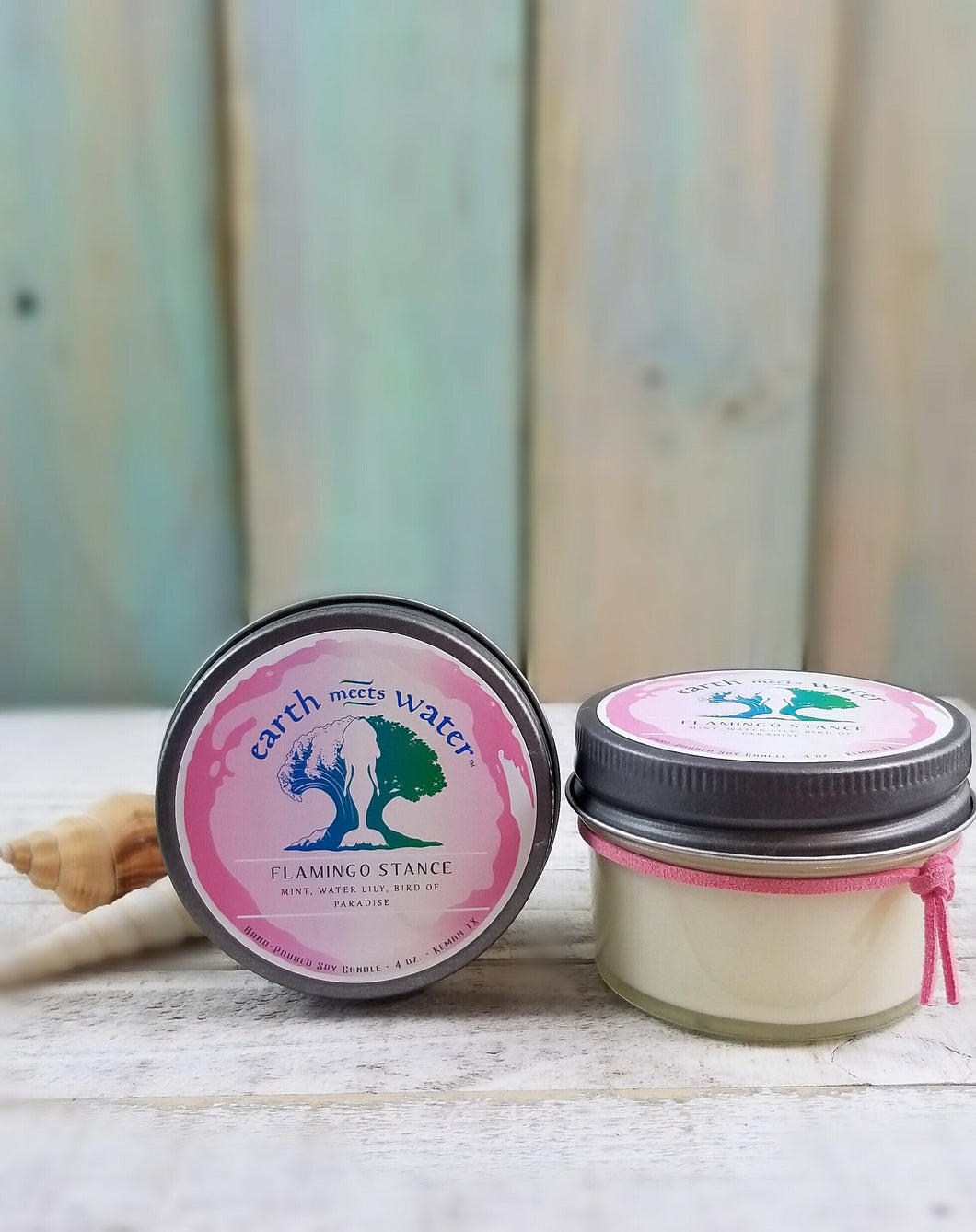 Flamingo Stance - 4oz Soy Candle