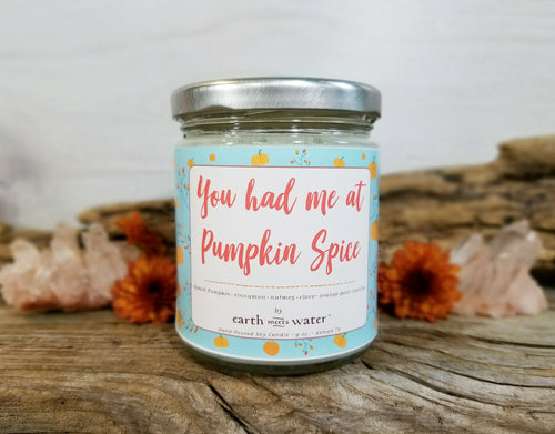 Pumpkin Spice - 9oz Soy Candle