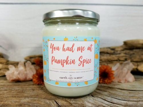 Pumpkin Spice - 16oz Soy Candle
