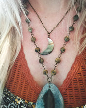 Crescent Moon Shell Necklace
