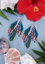 Jungle Nights Beaded Fringe Earrings