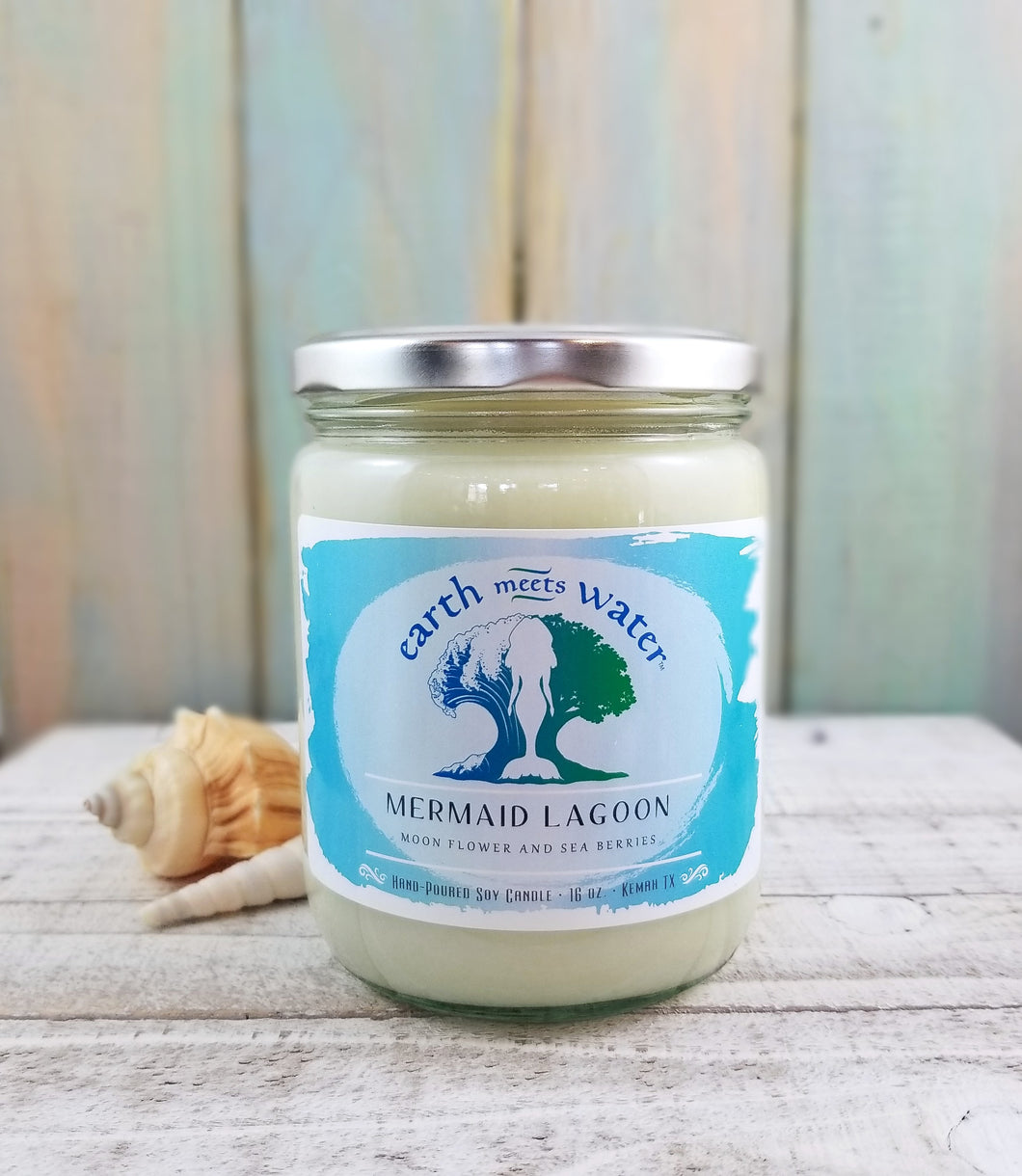 Mermaid Lagoon - 16oz Soy Candle