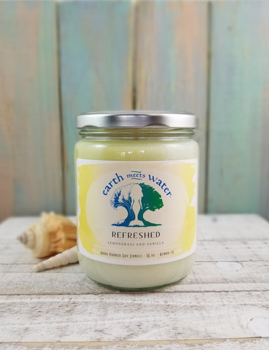 Refreshed - 16oz Soy Candle