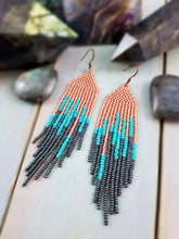 Sea Witch Beaded Fringe Earrings