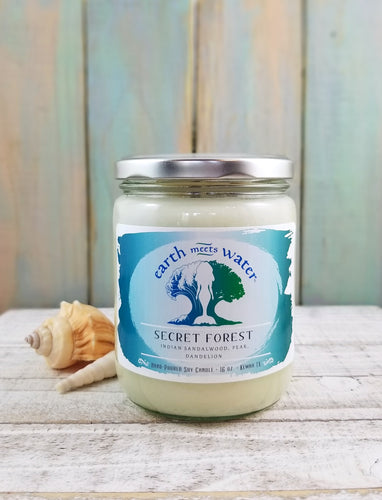 Secret Forest - 16oz Soy Candle