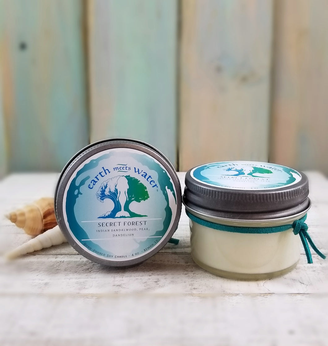 Secret Forest - 4oz Soy Candle