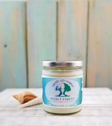 Secret Forest - 9oz Soy Candle