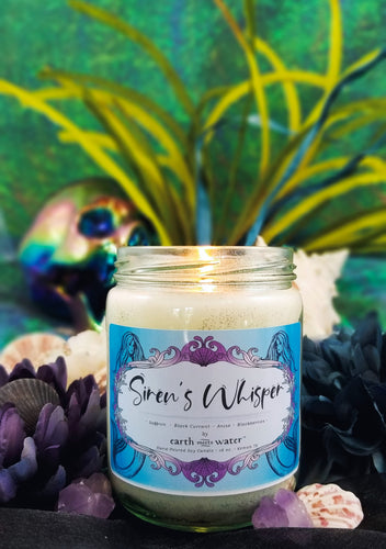 Siren's Whisper 16oz Soy Candle