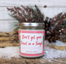 Don't get your Tinsel in a Tangle - 9oz Soy Candle