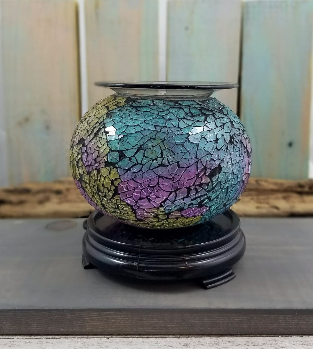 Mosaic Electric Wax & Oil Warmer