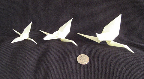 How to Make an Origami Double Coloured Tsuru (Japanese Peace Crane ... | 263x480