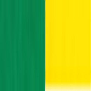 "Double-Sided 6"" 100 Sheets Green/Yellow"