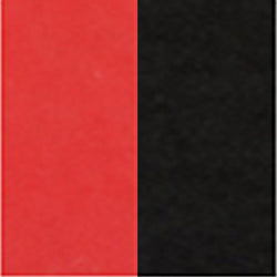 "Double-Sided 6"" 100 Sheets Red/Black"