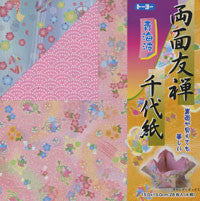 "Double-Sided Yuzen Wave III 6"" 28 Sheets"