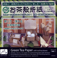 "Green Tea Paper 6"" 30 Sheets"