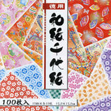 "Chiyogami 10 Patterns 15cm (6"") 100 Sheets"