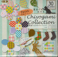 "Economy Double-Sided (twin) Chiyo 6"" 30 pattern 120 Sheets"