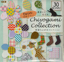 "Economy Double-Sided (twin) Chiyo 3"" 30 pattern 120 Sheets"