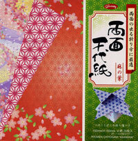 "Double-Sided Ryomen Chiyo-Hempflower 6"" 28 Sheets"