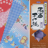 "Double-sided Ryomen Chiyo-Kanoko 6"" 28 Sheets"