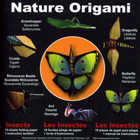 "Nature Origami--Insects 6"" 18 Sheets"