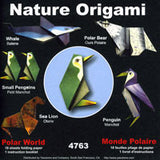 "Nature Origami--Polar World 6"" 18 Sheets"