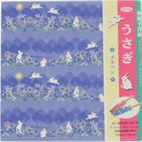 "Rabbits Chiyogami 6"" 24 Sheets"