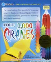 "1000 Cranes Kit 3"" 1000 Sheets GOLD FOIL PAPER EDITION"