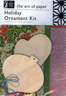 Holiday Ornament Kit (2 small pieces) Christmas