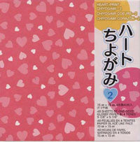"Hearts-double 6"" 40 Sheets"