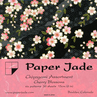 Chiyogami Assortment--Cherry Blossoms Too 15cm 36 Sheets