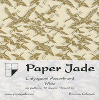 Chiyogami Assortment--White 15cm 36 Sheets
