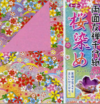 "Double-Sided Sakura/Color 6"" 24 Sheets"