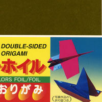 "Double-Sided Foil 6"" 11 Sheets"