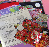 Kimono Doll-Making Kit 28 Sheets 12 Dolls