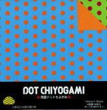 "Double-Sided Dot Pop Chiyogami 6"" 36 Sheets"