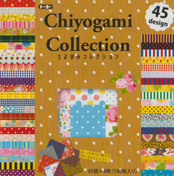 "Chiyogami Collection Economy 6"" 180 Sheets"