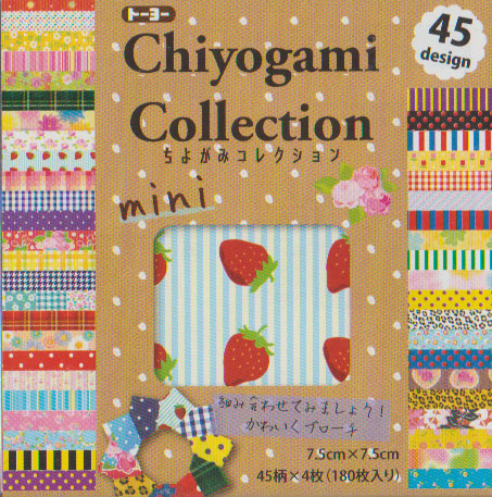 "Chiyogami Collection Economy 3"" 180 Sheets"